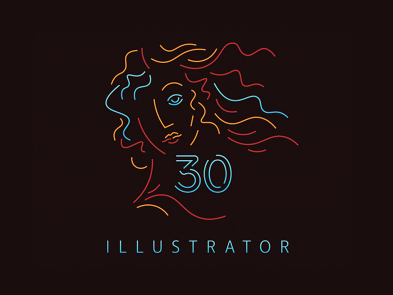 Illustrator cumple 30 años, vector a vector desde 1987