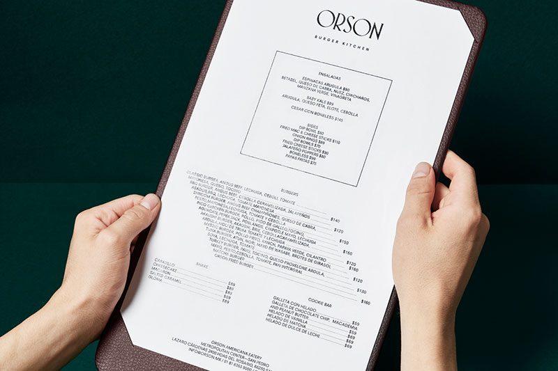 Orson, de Anagrama. Una hamburguesería inspirada en la obra de Hopper