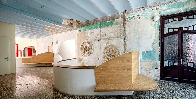Nueva Sala Beckett. Rehabilitación arqueológica de Flores & Prats Arquitectes © Adrià Goula