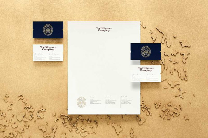 The Diligence Company, de Anagrama. Branding, UI Design, Development...