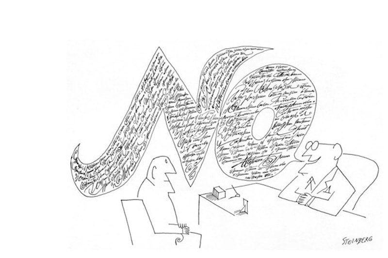 Las viñetas en el ADN de la revista The New Yorker