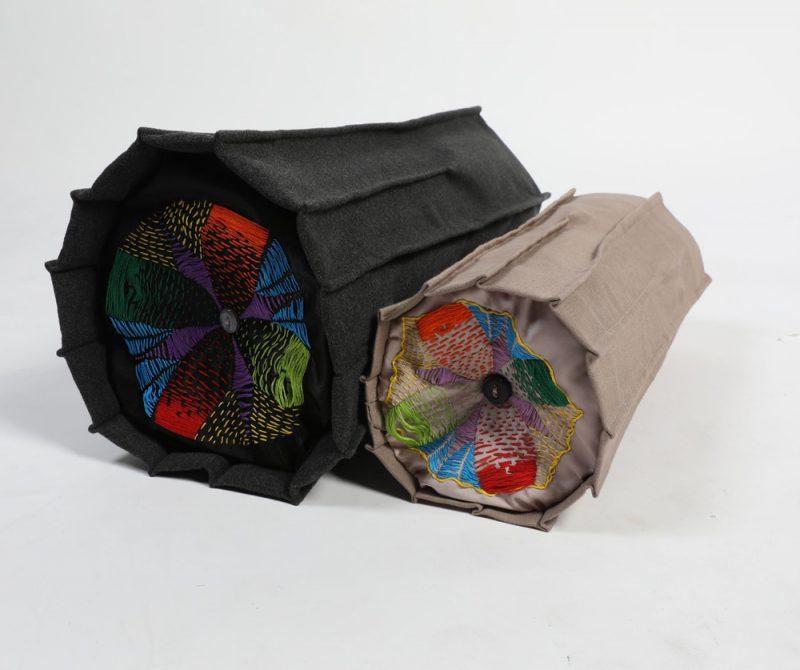 Artesans de Cataluña, IED Barcelona Escuela Superior de Diseño: Cosy Column, de Vanessa Vargas Barreto y Annie Michie