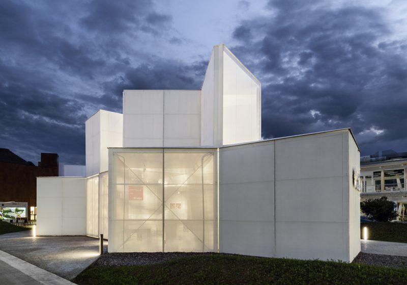 La Edicola de Piuarch, el pabellón de Caritas para la Expo 2015