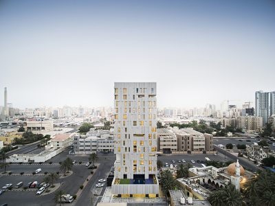 Wind Tower, la nueva vivienda urbana de AGi architects en Kuwait