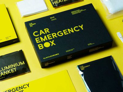 Car Emergency Box, el kit sanitario de Nosigner