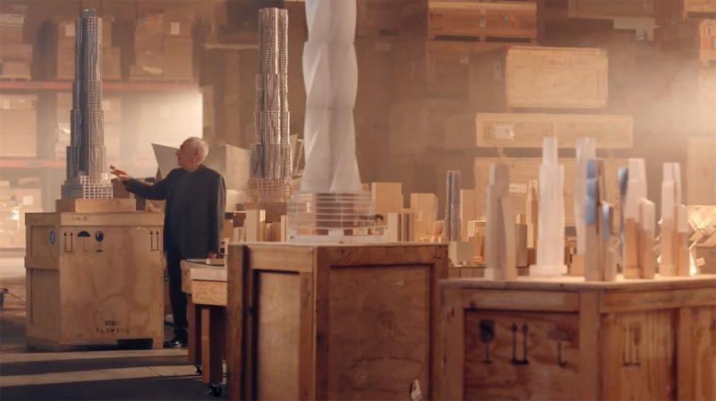 Frank Gehry enseña diseño y arquitectura en Masterclass