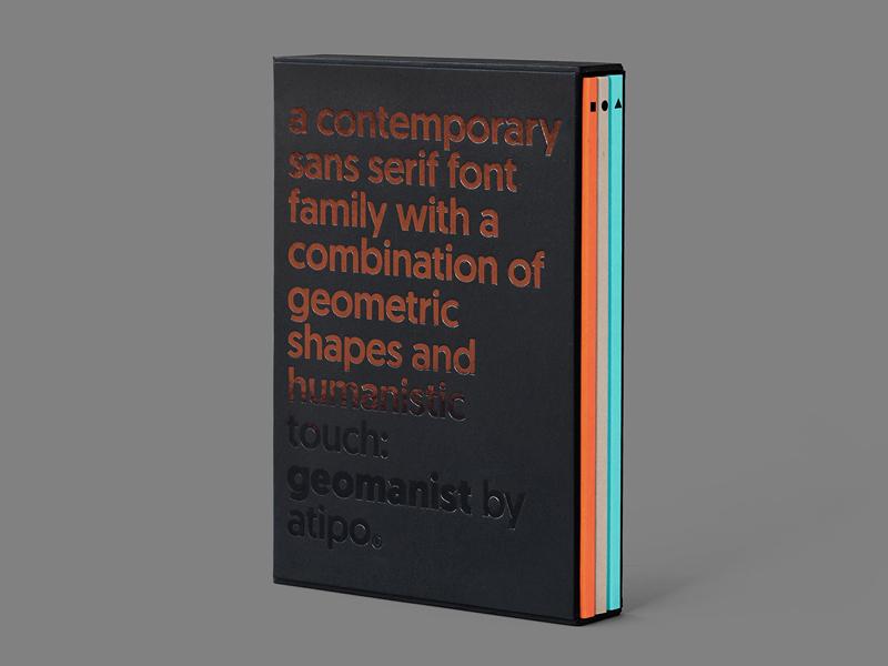 Geomanist Booklet, el manual tipográfico de Atipo