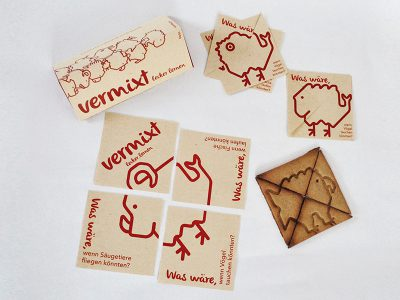 Vermixt: La galleta como soporte para la comunicación