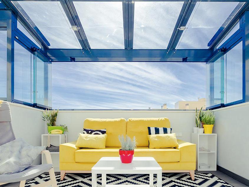 Cortinas de cristal, la alternativa energéticamente sostenible de Acristalia