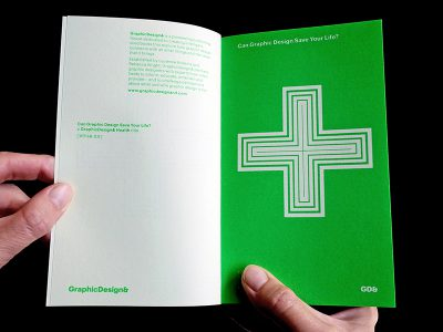 Can Graphics Design save your life? Libro y muestra de GraphicDesign&