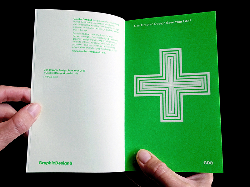 Can Graphics Design save your life? Diseño editorial de GraphicDesign&