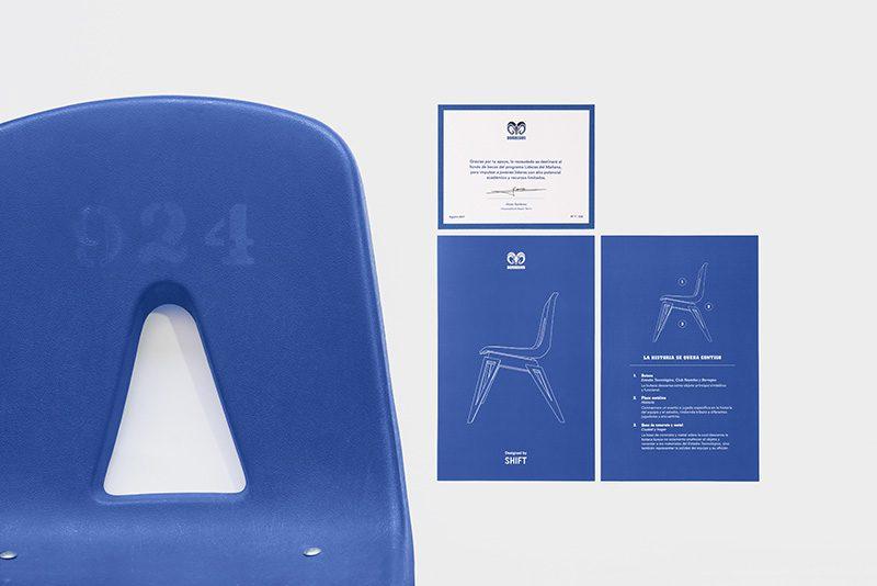 Butaca Legado, el diseño de SHIFT como homenaje al Monterrey FC