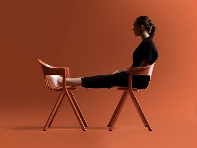 AXYL, la nueva línea de muebles de Layer para Allermuir