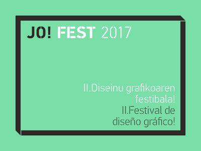 Jo! Fest, el festival de diseño celebra su segunda edición en el País Vasco