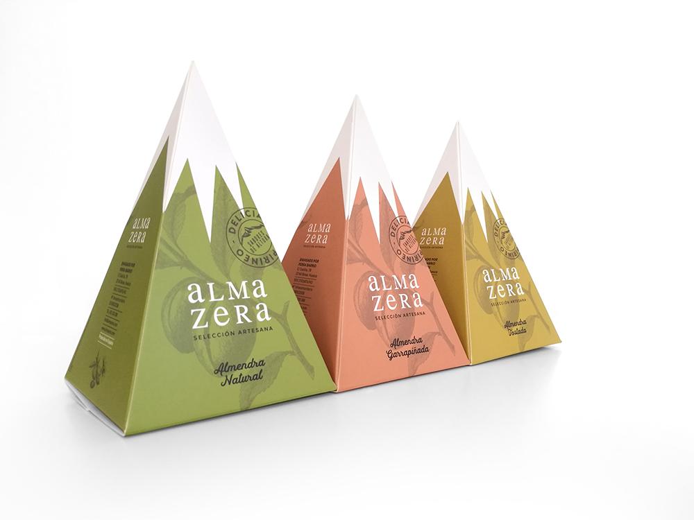 Packaging de Iglöo Creativo. Los Pirineos como fuente de inspiración