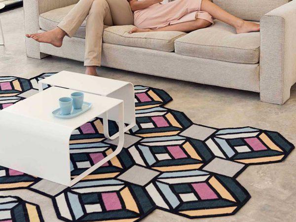 Parquet, las alfombras de Anna Lindgren y Sofía Lagerkvist para Gan