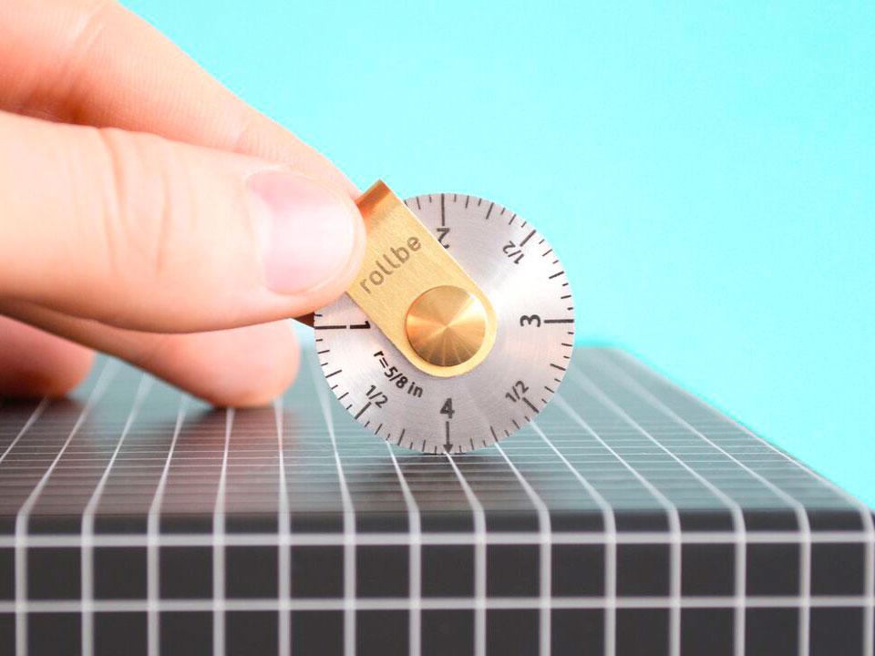 Rollbe, la herramienta de medición compacta diseñada por The Work of Mind