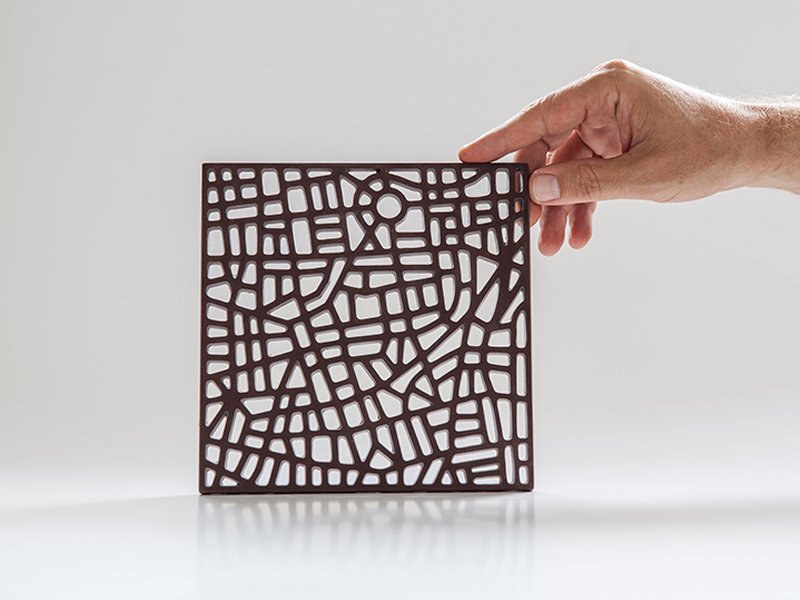 Tamtik, los mapas de chocolate Liat Zvi y Anat Erre