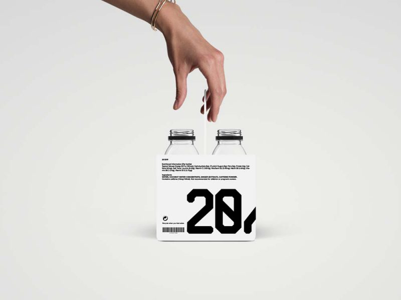 20/20 de Panos Tsakiris: diseño minimalista contra la resaca