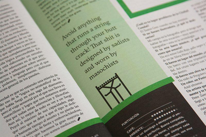 BCN Més, diseño editorial de la mano de Angel Sanz