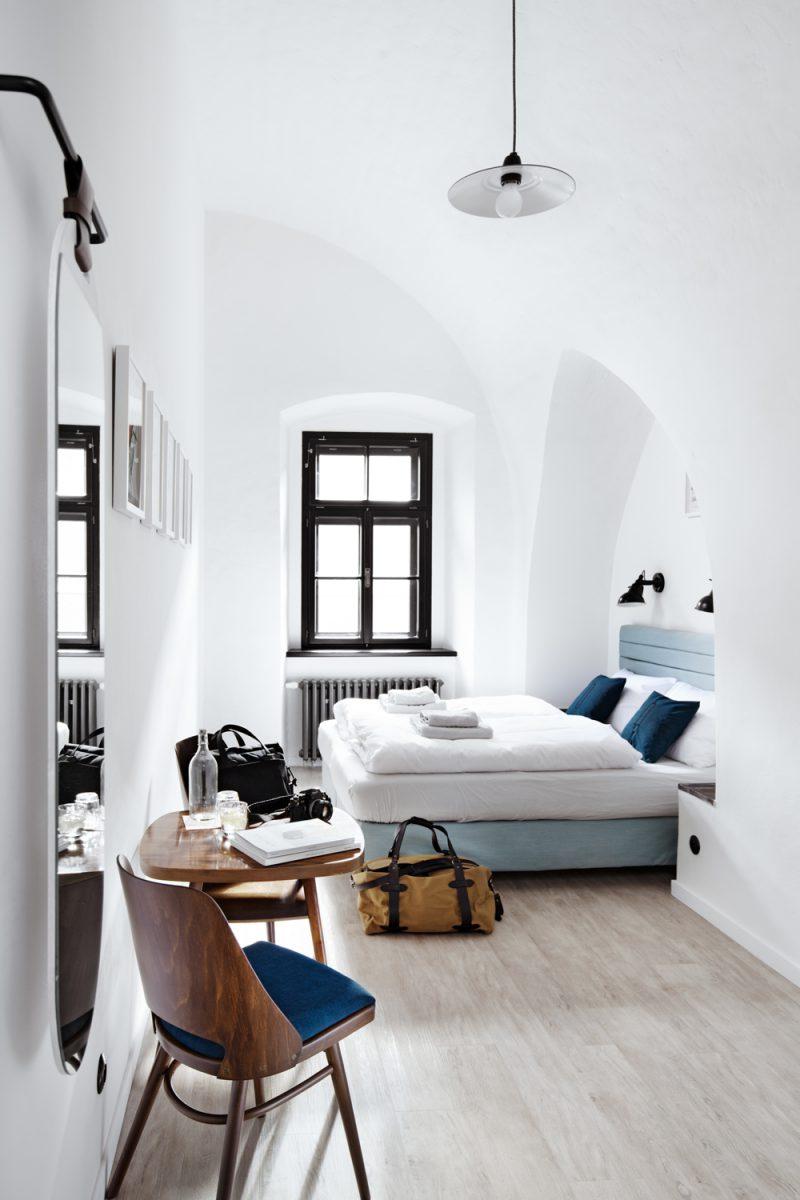 Long Story Short hostel, de Denisa Strmisková. Fotografía: Josef Kubicek