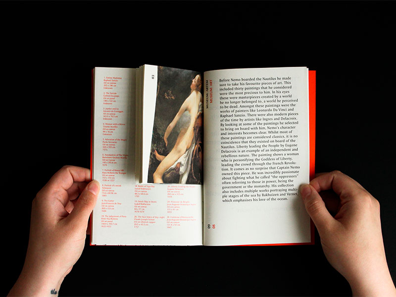 Diseño editorial de Luthiem Escalona: No Man's Land – An Alternative Nature
