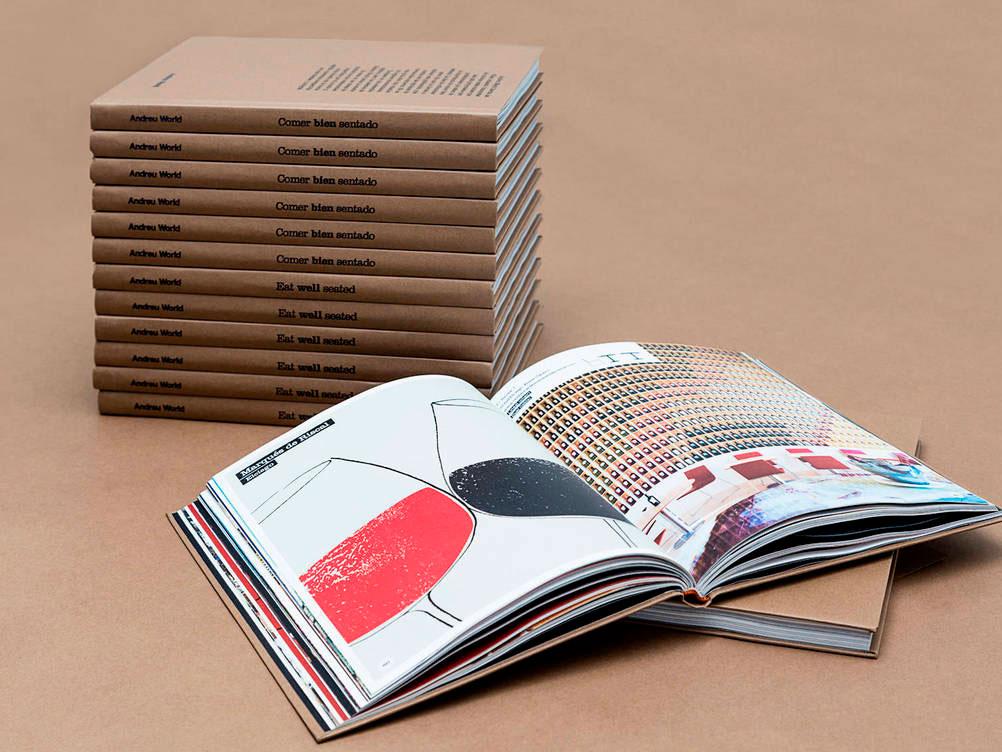 Andreu World edita Comer bien sentado: gastronomía y diseño de mobiliario