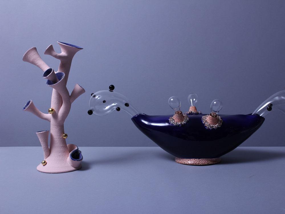 Dermapoliesis, de Matteo Cibic. Cerámica, vidrio y formas orgánicas en Londres