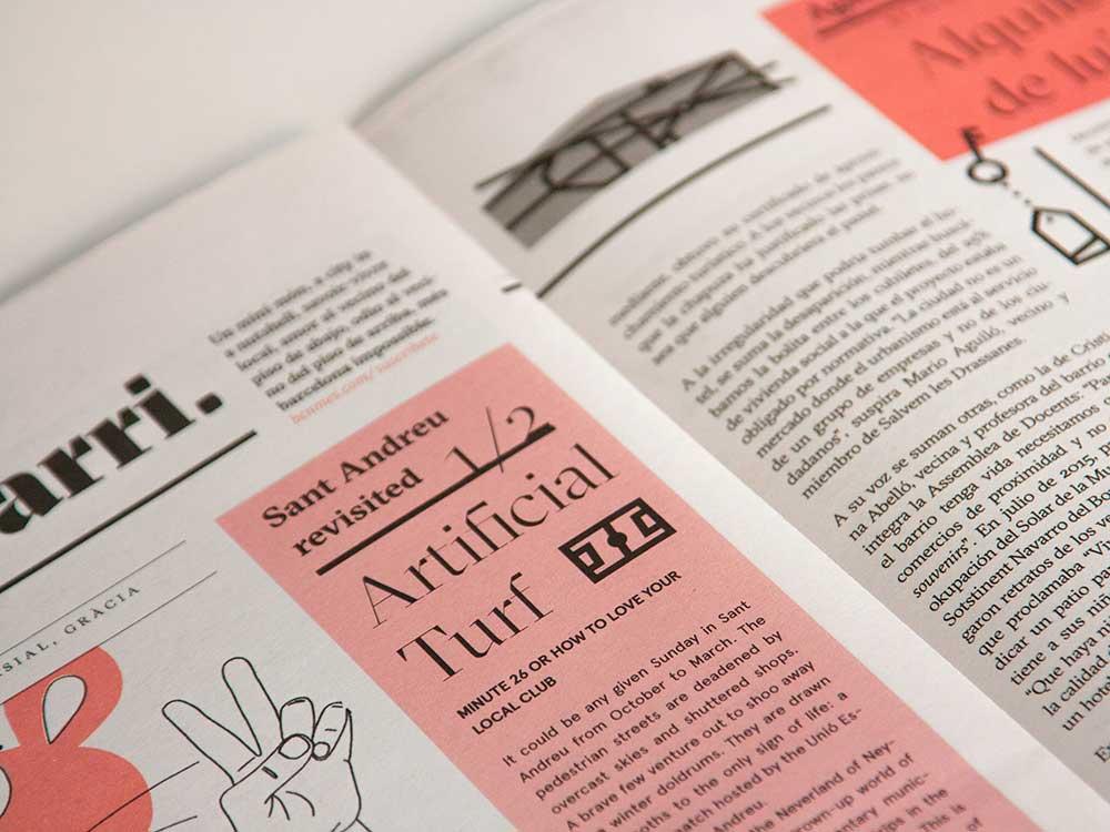 Diseño editorial: Angel Sanz Correa rediseña el periódico barcelonés BCN Més