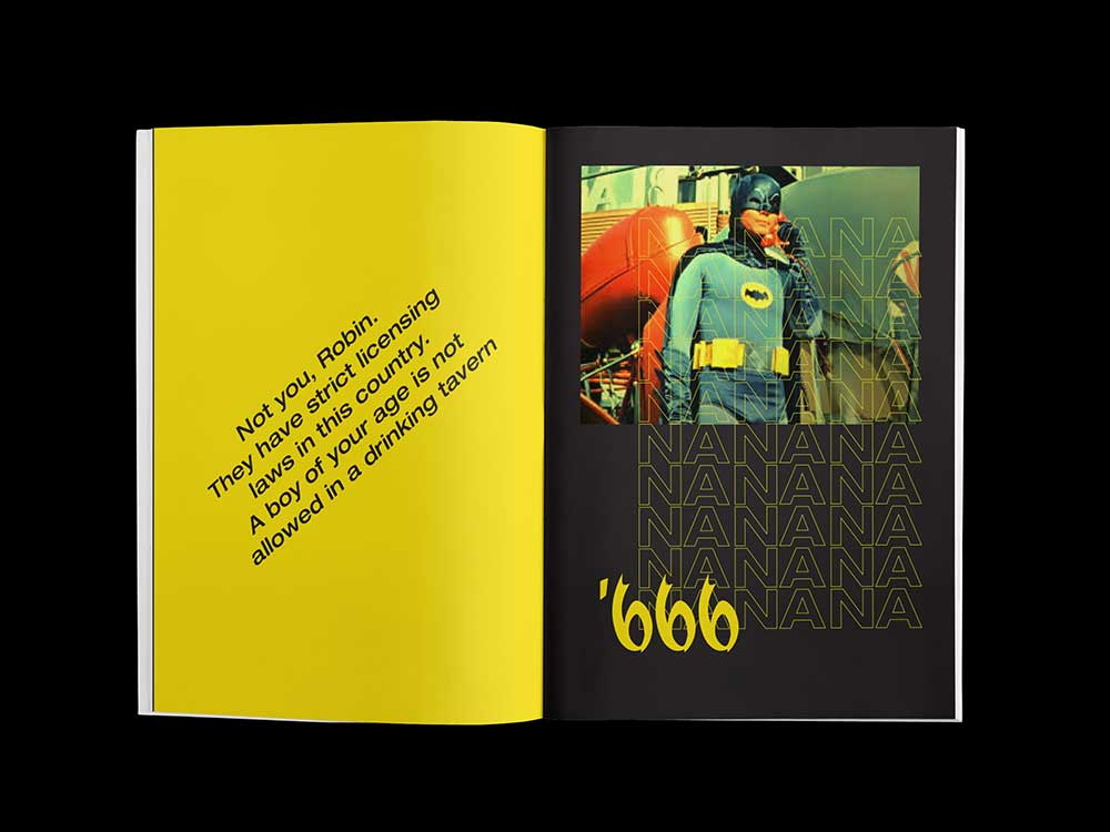 Diseño editorial: Nate Tilghman homenajea al Batman de Adam West