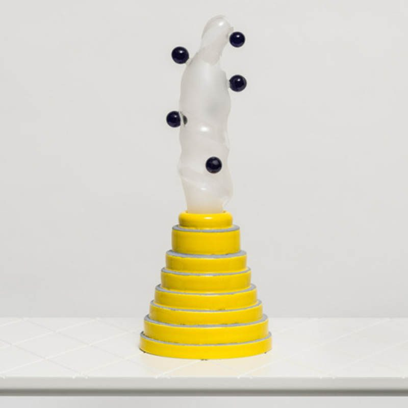 Dermapoliesis, formas orgánicas en la exhibición de Matteo Cibic