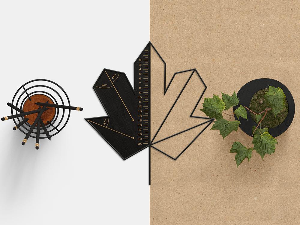 Dmytro Khrunevych diseña la identidad de Divan Grozny: la madera como elemento gráfico