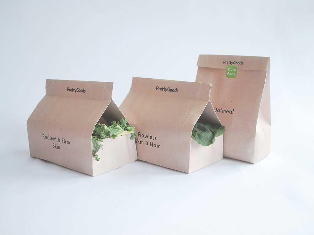 PrettyGoods, de Arnas Samuolis: comercializar belleza a través de la nutrición
