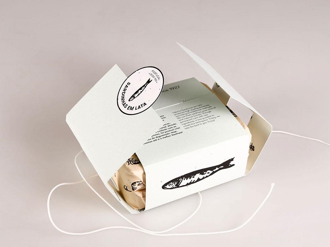 Sardinhas em Lata, identidad y packaging de Sofia Vieira
