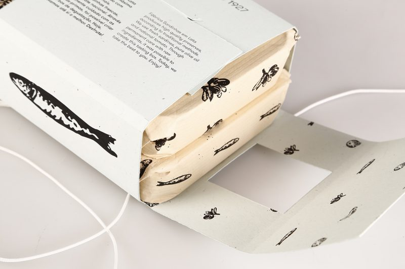 Sardinhas em Lata, una propuesta de packaging de Sofia Vieira