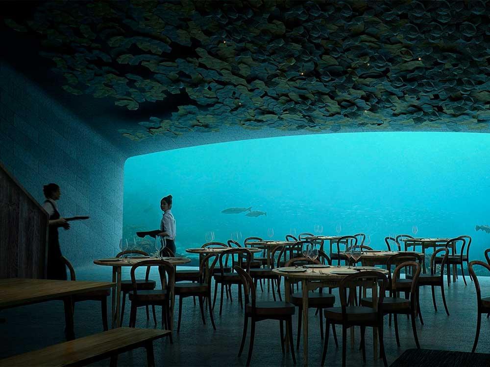 Under de Snøhetta, el primer restaurante submarino de Europa