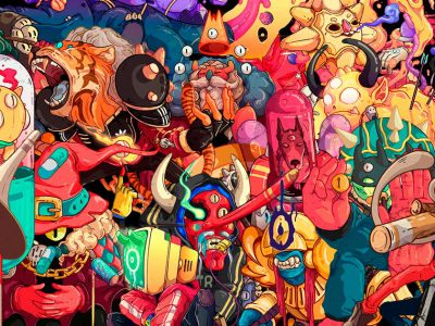 30 Days / 30 Characters, la serie diaria de ilustraciones de Nathaniel Rueda
