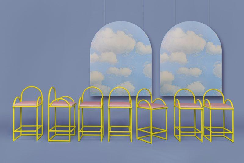 Arco, la colección de mobiliario de Masquespacio para Houtique. Fotografía: Luis Beltrán.