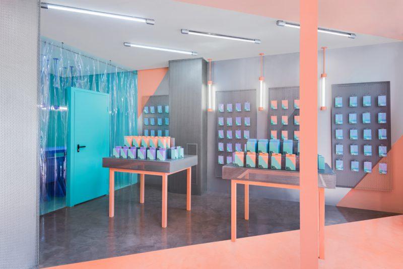 Masquespacio diseña la segunda tienda del Doctor Manzana. Fotografía: Luis Beltrán.