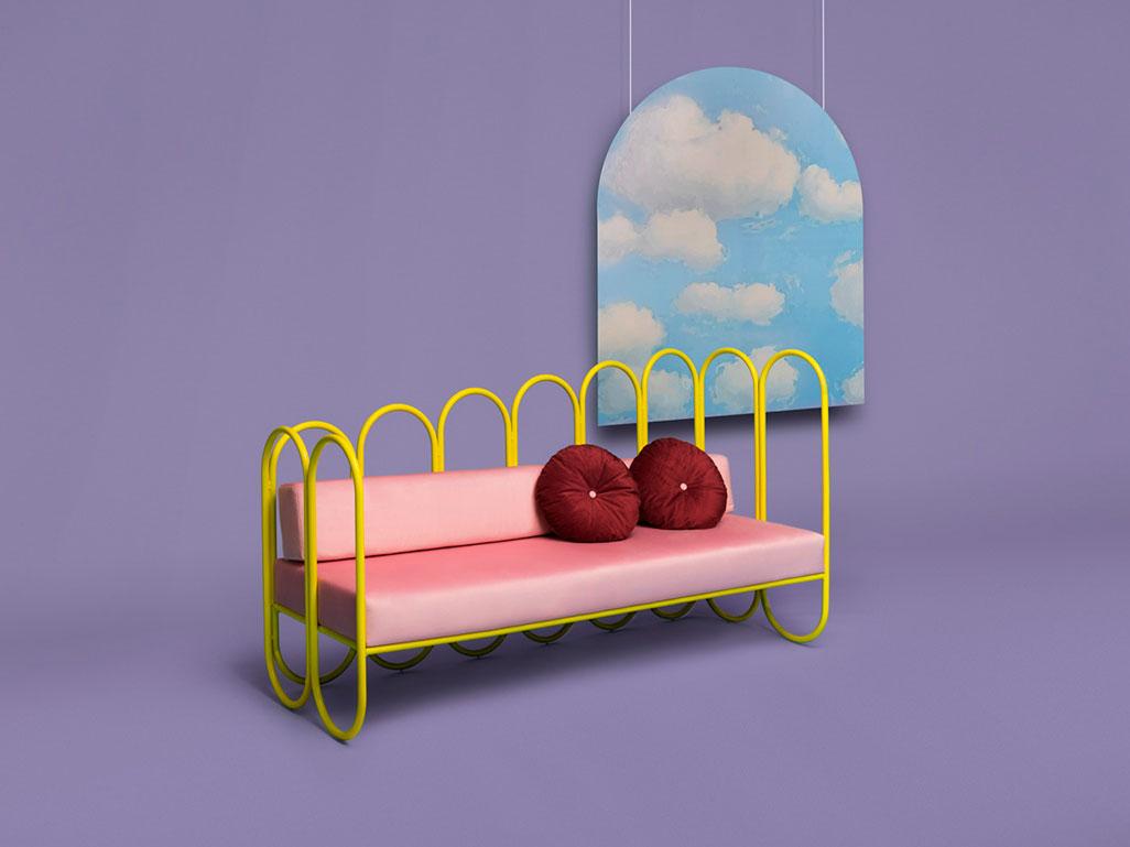 Arco, la colección de mobiliario de Masquespacio para Houtique