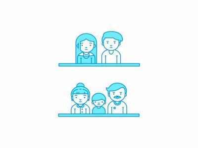 Diseño animado de Anagrama para el sitio de comidas Liment