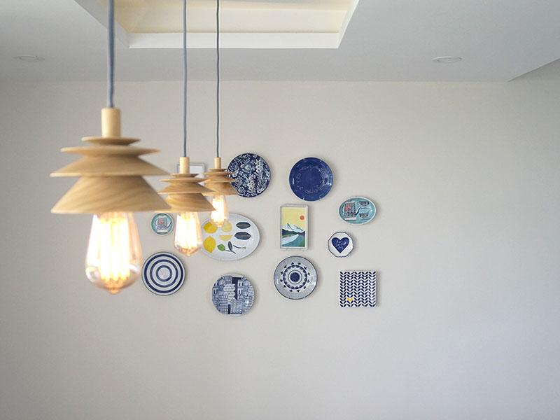 Nivo, lámpara de suspensión de Mauricio Sanin para Moak Studio
