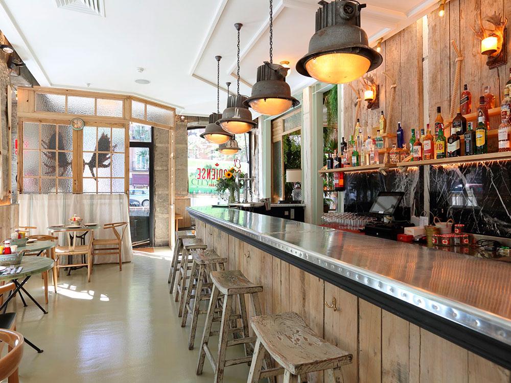 El Canadiense, restaurante temático con interiorismo de Joaquín Morán