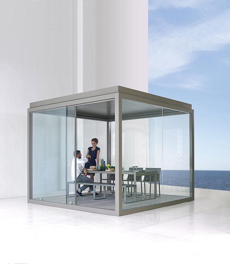 Cristal Box, el refugio transparente diseñado por GandiaBlasco