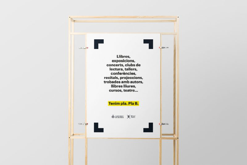 Una nueva marca para las bibliotecas municipales de Valencia
