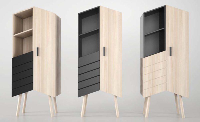 Tilbo, la unidad de almacenamiento de Moak Studio
