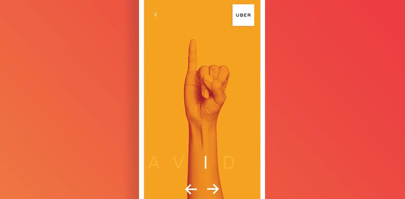 Uber lanza una web para aprender lenguaje de señas