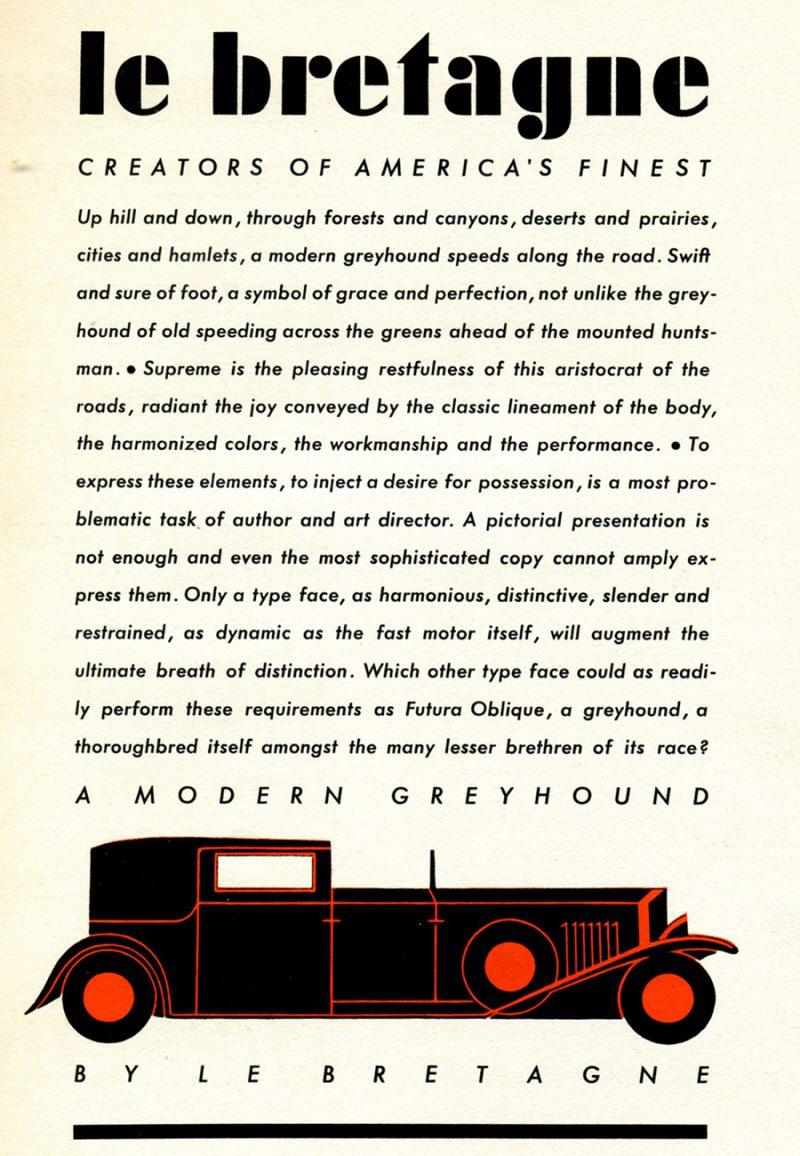 90 años de la tipografía Futura