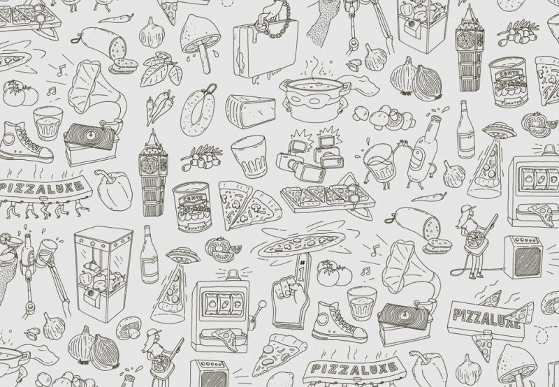 Touch diseña la imagen corporativa de Pizzaluxe