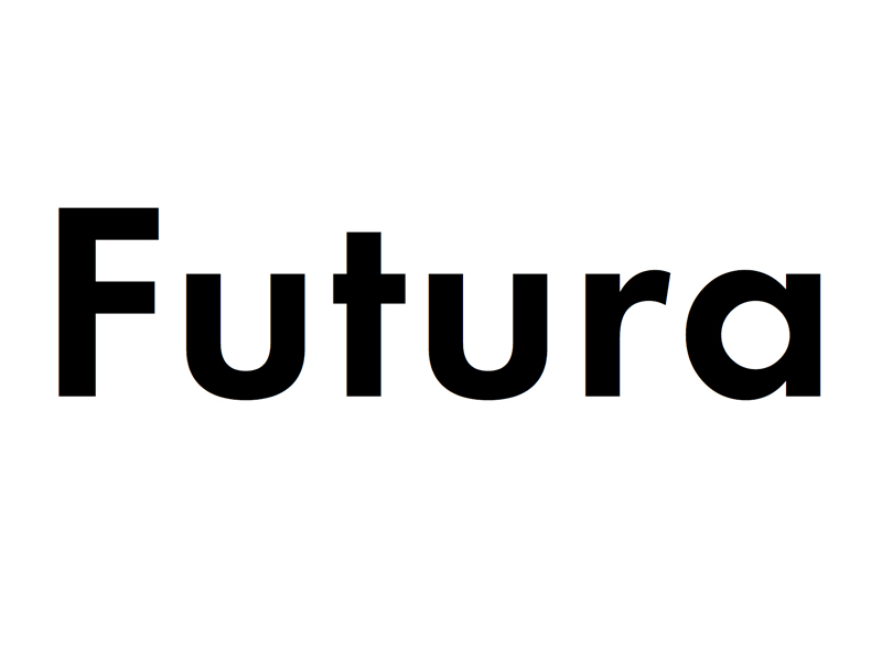 Futura, de Paul Renner. 90 años de una tipografía conquistó el mundo